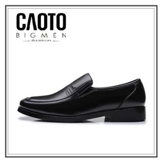 Gia y Tây Xỏ Giày Tây Lười Leather Shoes Franko Đen Big Size Nam Size 44 45 46 47 48 49 - GTX thumbnail