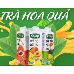 Hộp Trà Trái Cây Cozy 225ml - Hsd 4/2022 - Giao vị ngẫu nhiên