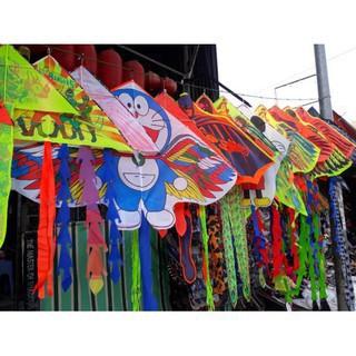 Diều thả hình phượng hoàng lửa, cá mập, rồng - Tặng kèm dây diều 100m và tay cầm, chất liệu vải dù cao cấp. - 117 thumbnail