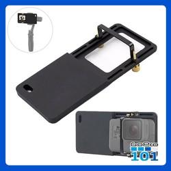 Adapter gắn GoPro, Sjcam lên Gimbal chống rung SMOOTH, OSMO MOBILE - GoPro101 - inoxnamkim