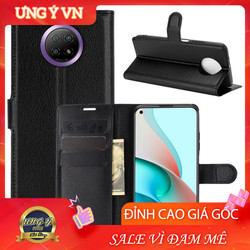 Bao da Xiaomi Redmi Note 9 5G Note 9T, Ốp lưng da Cao cấp 2 mặt có nắp gập và chống xem video tiện lợi cho Xiaomi Redmi Note 9 5G Note 9T  - Hàng Cao Cấp Loại S