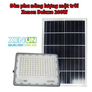 Đèn pha năng lượng mặt trời Xenon Deluxe cao cấp chính hãng DL03-200W - DL03-200W thumbnail