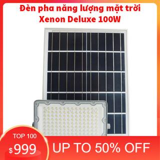 Đèn pha năng lượng mặt trời Xenon Deluxe cao cấp chính hãng DL03-100W - DL03-100W thumbnail