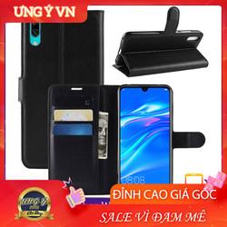 Bao da Huawei Y7 Pro 2019 Ốp lưng da 2 mặt Cao cấp có nắp gập và chống xem video tiện lợi cho Huawei Y7 Pro 2019  - Hàng Cao Cấp Loại S