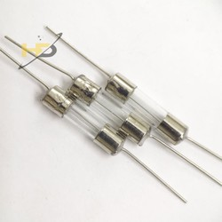 Linh Kiện Bếp Từ, Combo 10 Cầu Chì Ống Thủy Tinh 20A 250V, Kích Thước 5x20mm, Chân Cắm