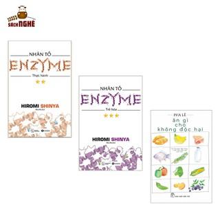Combo Sách Chăm Sóc Sức Khỏe Nhân Tố Enzyme - Trẻ Hóa (Tái Bản) + Nhân Tố Enzyme - Thực Hành (Tái Bản) + Ăn Gì Cho Không Độc Hại (Sách Sống Khỏe) - THAIHA251 thumbnail