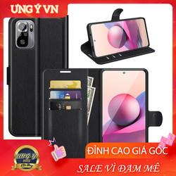 Bao da Xiaomi Redmi Note 10 10 Pro, Ốp lưng da Cao cấp 2 mặt có nắp gập và chống xem video tiện lợi cho Xiaomi Redmi Note 10 10 Pro  - Hàng Cao Cấp Loại S