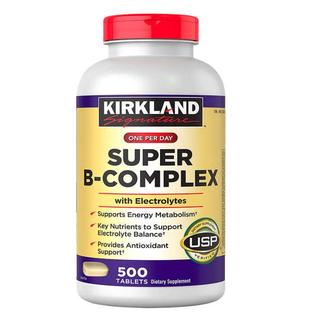 Viên Uống Bổ Sung Vitamin B Kirkland Signature Super B-Complex 500 viên - Super B-Complex thumbnail
