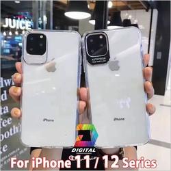 Ốp Lưng iPhone 11, 11 PRO, 11 PRO MAX, 12 MINI, 12, 12 PRO, 12 PRO MAX Viền Nhôm Bảo Vệ Camera Siêu Đẹp