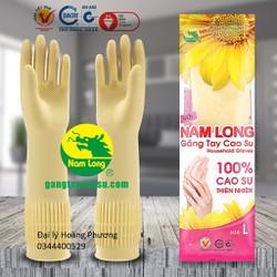 gang tay cao su gang tay rửa bát sixe L 40cm