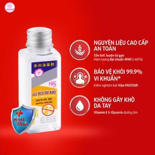 Nước rửa tay khô diệt khuẩn Avatar 75% cồn 40ml - Diệt khuẩn tối đa, Đảm bảo chất lượng - RUATAY-40ml 1