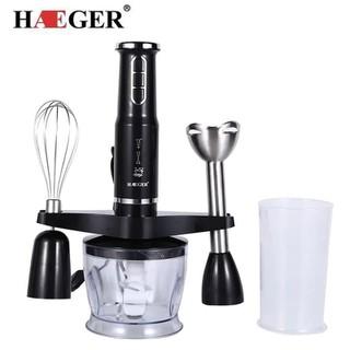 Máy xay sinh tố cầm tay Haeger 600W có 3 chế độ xay nhanh xay thịt,xay sinh tố,xay thức ăn dặm cho bé. Sản phẩm xuất khẩu sang Châu Âu. Bảo hành 12 tháng - 05051102 máy xay cầm tay thumbnail
