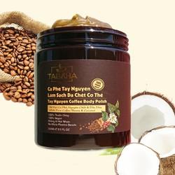 Tẩy da chết toàn thân Cà phê Tabaha 250ml giúp sạch da sáng mịn đều màu