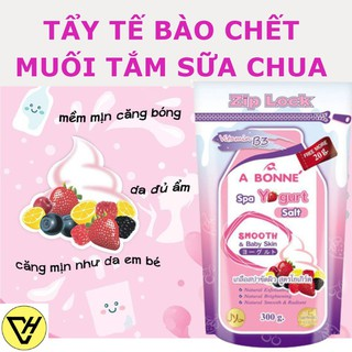 Muối Tắm Sữa Tẩy Tế Bào Chết A Bonné Spa Yogurt Salt - 1 TÚI 300gr - DATE 2020 - A Bonné thumbnail