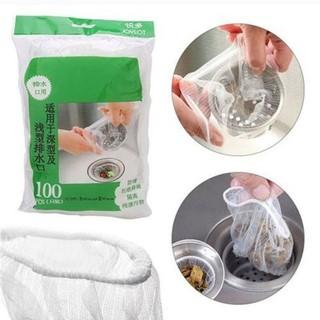 Combo 100 túi lọc rác bồn rửa bát - 100 túi lọc rác thumbnail