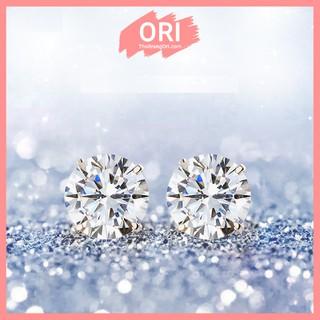 [ Deal 1k ] Bông tai đính đá Zirconia phong cách Hàn Quốc - BG24 thumbnail