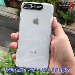 Ốp Lưng iPhone 7 Plus / 8 Plus Viền Nhôm Bảo Vệ Camera Siêu Đẹp