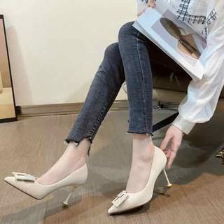 Giày cao gót mũi nhọn sang xịn hot 2021 - top2021 thumbnail