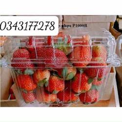 50 Hộp nhựa trong P1000B đóng gói trái cây 1 ký