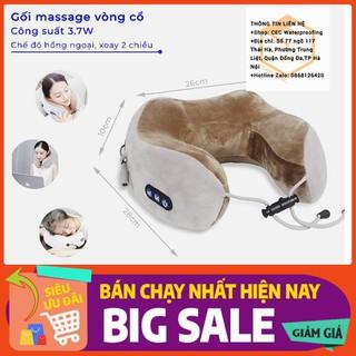 Gối Massage Vòng Cổ - Gối chữ U Mát Xa Vùng Cổ Vai Gáy - GoiMassage thumbnail