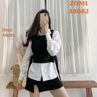 Áo GILE nữ thời trang trẻ trung hàng Việt Nam chất lượng cao ZOMI AGL - AGL thumbnail