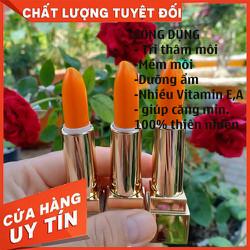 Son Dưỡng Môi Tinh Dầu Gấc và Tinh Dầu Dừa ( Dưỡng ẩm - Tr. thâm - Mềm môi - Căng bóng )