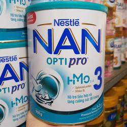 Sữa Bột NAN Optipro 3 - 1.7 mẫu mới
