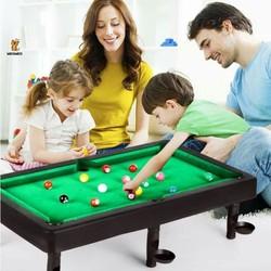 BÀN CHƠI BIA MINI CHO BÉ - Bàn chơi bida có chân loại lớn dành cho bé