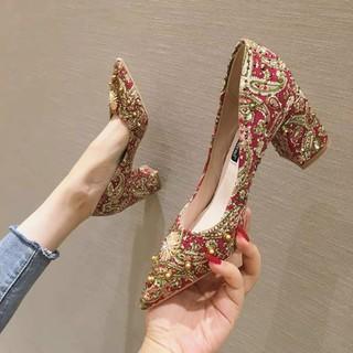 giày cao gót khảm đá hd21 - HD21 thumbnail