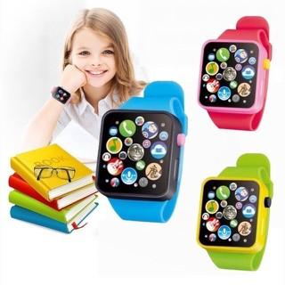 Đồng hồ đeo tay đồ chơi cho bé ( có nhạc) - baby246 thumbnail