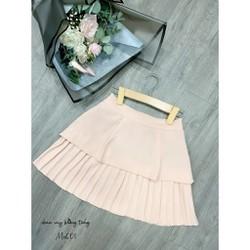 Chân Váy Thiết kế mới Màu Hồng Nhạt Đủ Size MS601