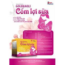 GOLDKAOLI Cốm Lợi Sữa . Giúp lợi sữa , tăng tiết sữa . Hỗ trợ tăng cường sức khỏe phụ nữ sau sinh