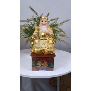 (1 CÁI) 10cm Ghế ngồi tượng thờ . BẰNG GỖ TRÀM đắp nổi hoa sen .SP này giá tiền 1 Cái - 1111 thumbnail