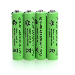 Bộ 4 pin sạc AAA 600mah 1,2V pin tiểu nhỏ pin đũa chuyên lắp remote các loại đồ chơi trẻ em