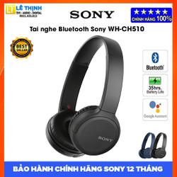 Tai nghe Bluetooth Sony WH-CH510 (Đen) - Hàng chính hãng - Bảo hành chính hãng Sony 12 tháng toàn quốc