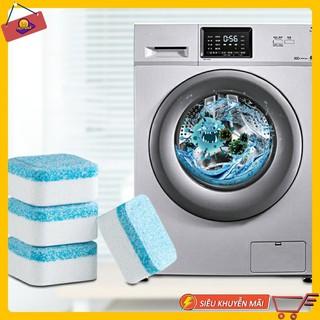 Bộ 4 Viên Tẩy Vệ Sinh Lồng Máy Giặt Giúp Diệt khuẩn Và Tẩy Chất Cặn Hiệu Quả. - 8424073505 thumbnail