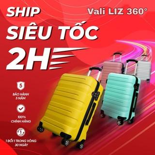 Vali du lịch Vali size 20 xách tay Size 24 chống vỡ chống xước chống nước . Hàng chính hãng Việt Nam sản xuất bảo hành 05 năm - 8082024 thumbnail