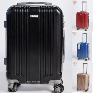 Vali du lịch vali kéo xách tay 20 inch chống vỡ chống xước , Việt Nam Sản Xuât , BH 05 năm - 886 thumbnail
