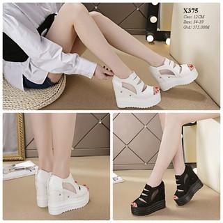 Giày dép sandal nữ đế cao 12cm X375 - X375 thumbnail