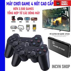 Máy chơi gamer 4 nút PS3000 4K Ultra Hd Game Stick + Tặng Kèm Thẻ Nhớ TF 32G
