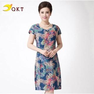 Đầm váy nữ QKT dáng suông form rộng QK123 - da.123 thumbnail