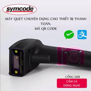 ivn076 máy quét mã vạch Symcode ivn076 không dây cảm biến hồng quang CCD (2D) quét được cả mã barcode 1D và mã QR 2D - ivn076 thumbnail