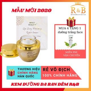 Kem dưỡng da ban đêm Daily Beauty Age Away Vitalizing Night Cream R&B Việt Nam Đánh Thức Thanh Xuân Trẻ Hóa Làn Da - 3480325137 thumbnail