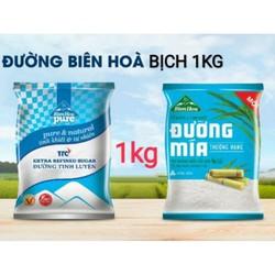 Đường Biên Hòa bịch 1kg - đường cát trắng bịch 1kg