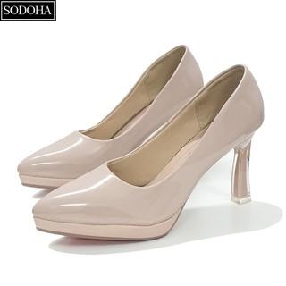 Giày Nữ , Giày cao gót nữ SODOHA Đế Đúp Cao 10Cm - SDH169 thumbnail