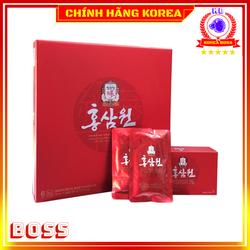 Nước hồng sâm KGC Cheong Kwan Jang thượng hạng, hộp 30 gói - Tăng đề kháng, chống lão hóa, phòng ngừa ung thư, koreaboss
