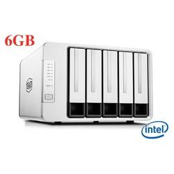Ổ cứng mạng NAS TerraMaster F5-221, CPU Intel 2GHz, RAM 6GB, 5 khay ổ cứng