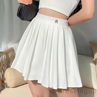 Chân váy xếp ly thêu chữ có quần bảo hộ_Xem hàng trước khi thanh toán - Chân váy xếp ly thêu chữ 012 thumbnail