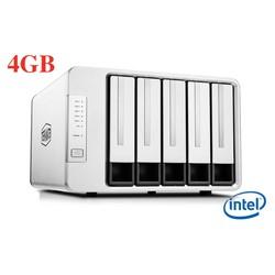 Ổ cứng mạng NAS TerraMaster F5-221, CPU Intel 2GHz, RAM 4GB, 5 khay ổ cứng