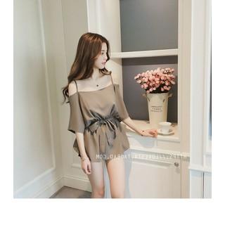 Thời trang nữ áo trễ vai - XAM01 thumbnail